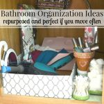 Bathroom Organization for Free