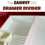 How to Make the Easiest DIY Drawer Divider