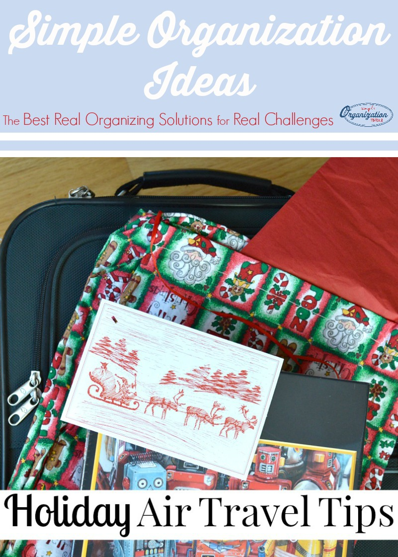17 simple tips to make holiday air travel effortless and even enjoyable. 17 simple tips to make holiday air travel effortless and even enjoyable.