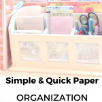 Simple Quick Paper Organization
